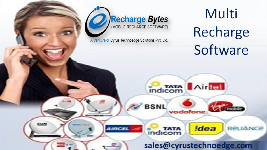 Advanced Mobile Recharge Software Provider Company in JaipurAdvanced